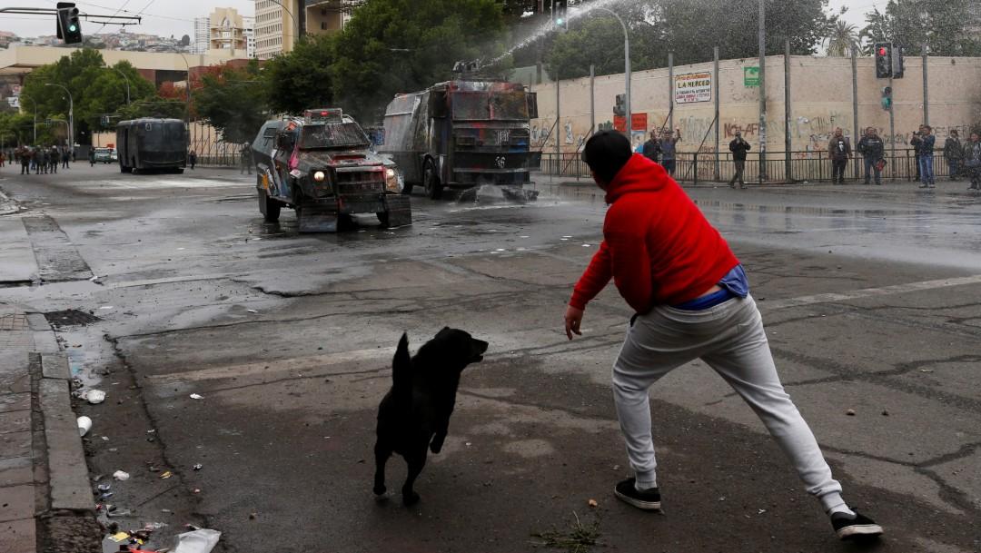 Foto: Oposición chilena rechaza anuncio sobre nueva Constitución, 10 de noviembre de 2019, Chile