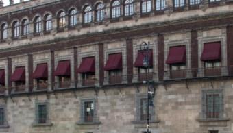 FOTO AMLO recibe a padres de los 43 normalistas en Palacio Nacional (Cuartoscuro/Rogelio Morales)