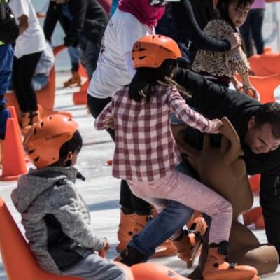 ¿Cómo será la nueva pista de patinar en el Zócalo?