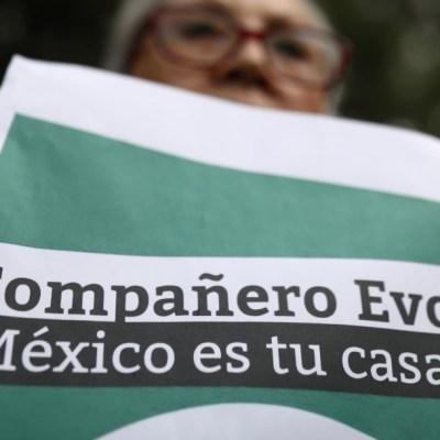 ¿Por qué México le dio asilo a Evo Morales?