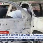 FOTO: Preparan funerales víctimas Lebarón Sonora