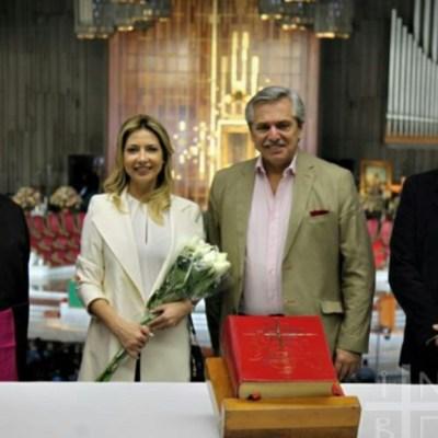 Presidente electo de Argentina visita la Basílica de Guadalupe