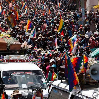 EEUU pide investigar supuesto audio de Evo Morales donde llama a bloqueos