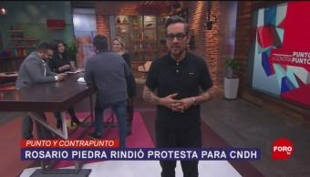 FOTO: Punto y Contrapunto, con Genaro Lozano- Programa del 13 de noviembre de 2019, 13 noviembre 2019