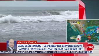 FOTO: Raymond provocará lluvias en Baja California Sur, 16 noviembre 2019
