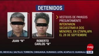 FOTO: Realizan audiencia presuntos payasos secuestradores Iztapalapa,