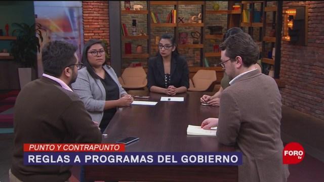 Foto: Reglas Operación Programas Sociales Amlo 27 Noviembre 2019