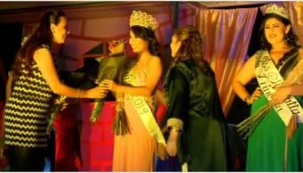 Foto: Paloma fue coronada como la 'Reina' del Penal de Puente Grande, 9 de noviembre de 2019 (Noticieros Televisa)