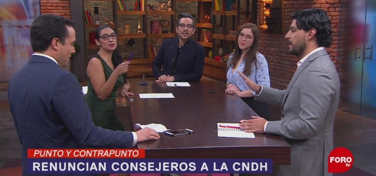 FOTO:Renuncias en el Consejo Consultivo CNDH, 14 noviembre 2019