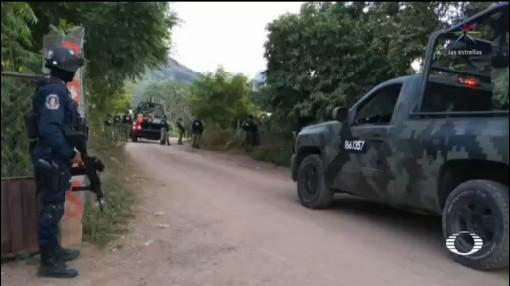 Foto: Nuevos Enfrentamientos Tierra Caliente Guerrero 20 Noviembre 2019