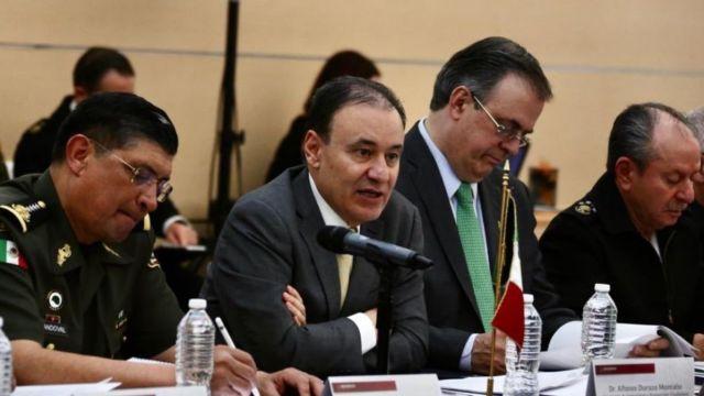 Reunión de alto nivel entre México y Estados Unidos.