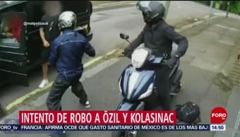 FOTO: Video Completo Intento Asalto Özil Kolasinac
