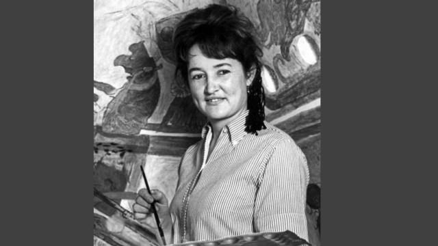 Foto: La Secretaría de Cultura lamentó el fallecimiento de la pintora y muralista Rina Lazo, el 1 de noviembre de 2019 (Twitter @cultura_mx)