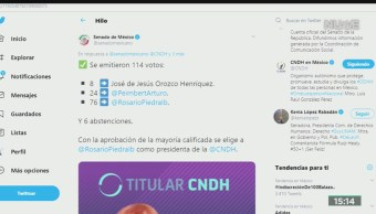 FOTO: Rosario Piedra Ibarra nueva titular CNDH, 7 de noviembre de 2019