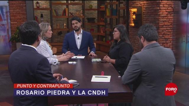 Foto: Rosario Piedra Incumplió Requisitos Sna 20 Noviembre 2019