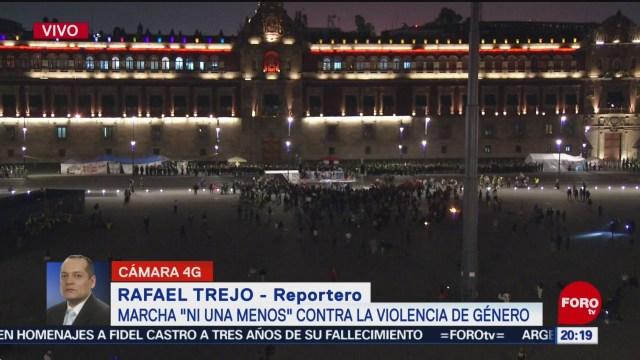 Foto: Saldo Blanco Marcha Violencia Género Cdmx 25 Noviembre 2019