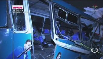 FOTO:Se registra choque en la México-Pachuca; hay 11 muertos, 18 noviembre 2019