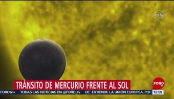 Se registra tránsito de Mercurio frente al Sol