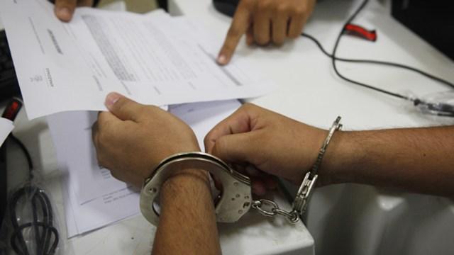 Imagen: La SSC federal informó que los sujetos asegurados presuntamente participaron en la privación ilegal de la libertad de un servidor público del municipio de Rafael Delgado, 2 de noviembre de 2019 (Getty Images, archivo)
