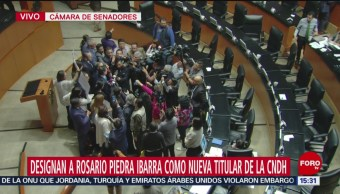 FOTO: Rosario piedra Ibarra nueva titular CNDH,