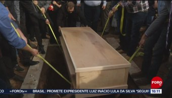 FOTO: Sepultan a última víctima de ataque a familia LeBarón, 10 noviembre 2019