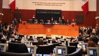 Sesión del Senado de la República.
