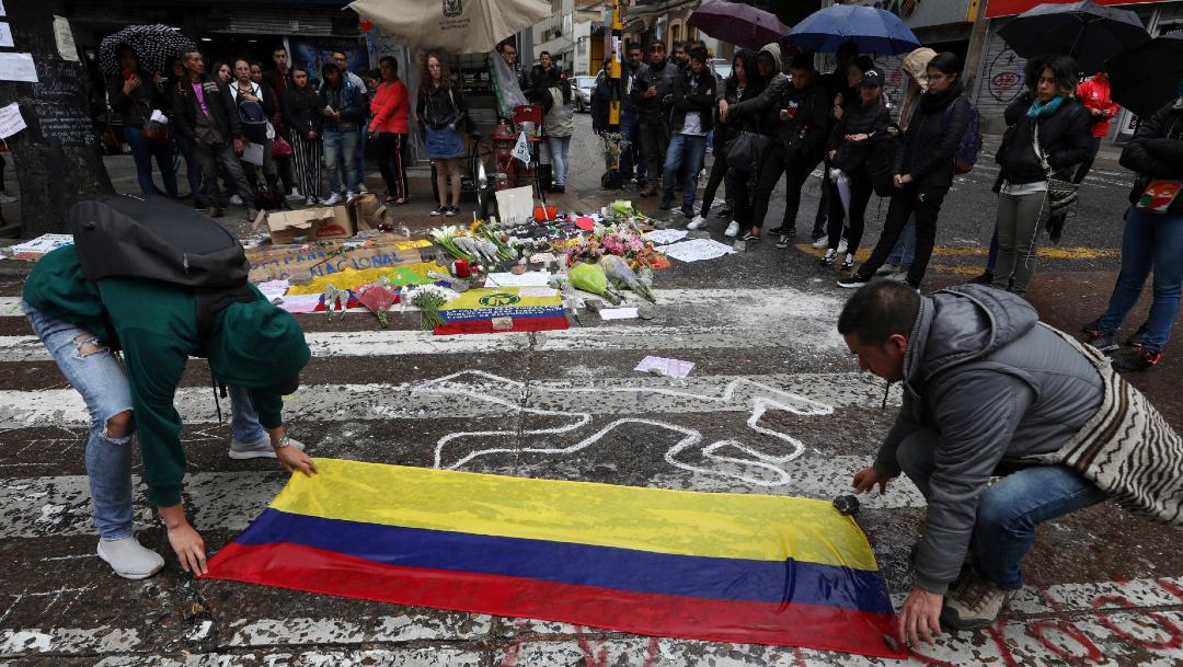 Sindicatos llaman a nuevo paro en Colombia este jueves (AP bogota 26 noviembre 2019)