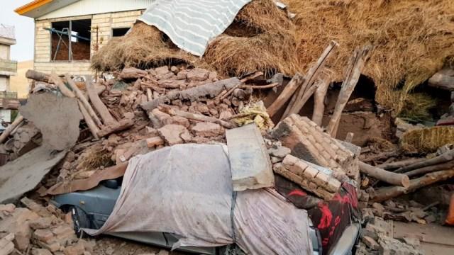 FOTO Sismo de magnitud 5,9 deja 5 muertos