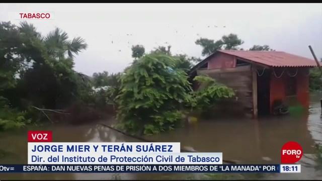 FOTO: Solicitan declaratoria emergencia Tabasco por lluvias