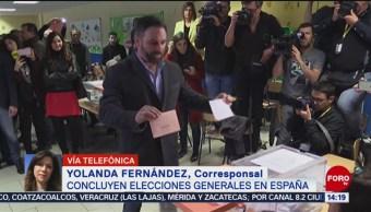 FOTO: Sondeos dan como ganador al PSOE en elecciones generales en España, 10 noviembre 2019