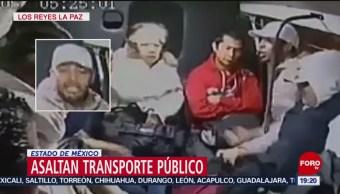 Foto: Sujetos Armados Roban Transporte Público Los Reyes La Paz Video 6 Noviembre 2019
