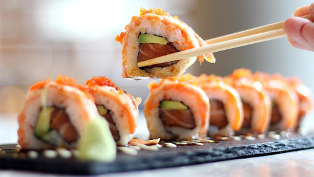 mareos después de comer sushi y diabetes