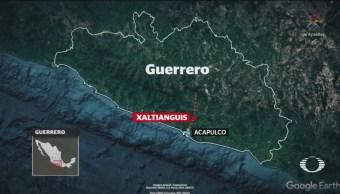 FOTO: Suspenden actividades en Xaltianguis por enfrentamientos, 11 noviembre 2019