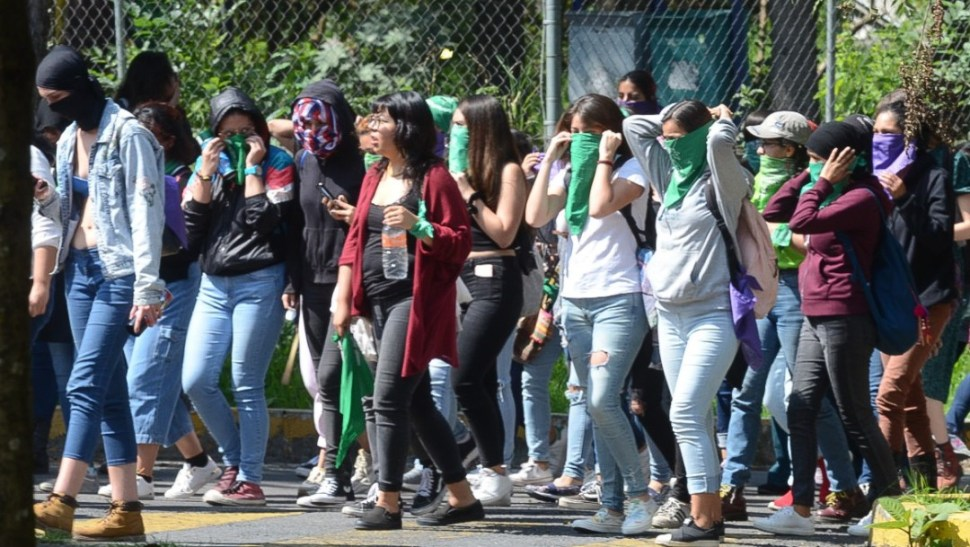 FOTO Suspenden clases en Facultad de Derecho de la UNAM
