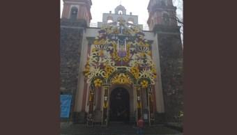 Foto: Templo de 'La Cuevita' se convierte en la catedral de Iztapalapa
