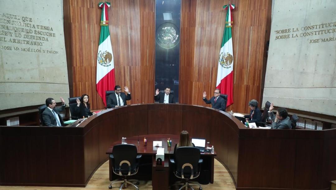 Foto: Los magistrados coincidieron en que las inconformidades no son de materia electoral, sino de carácter parlamentario y que, por ello, eran notoriamente improcedentes