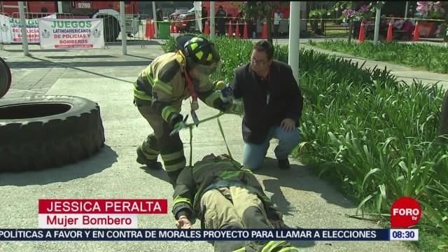 FOTO: Terminan los séptimos juegos latinoamericanos de policías y bomberos, 24 noviembre 2019