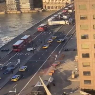 Policía disparó a sujeto que realizó ataque con cuchillo en Puente de Londres