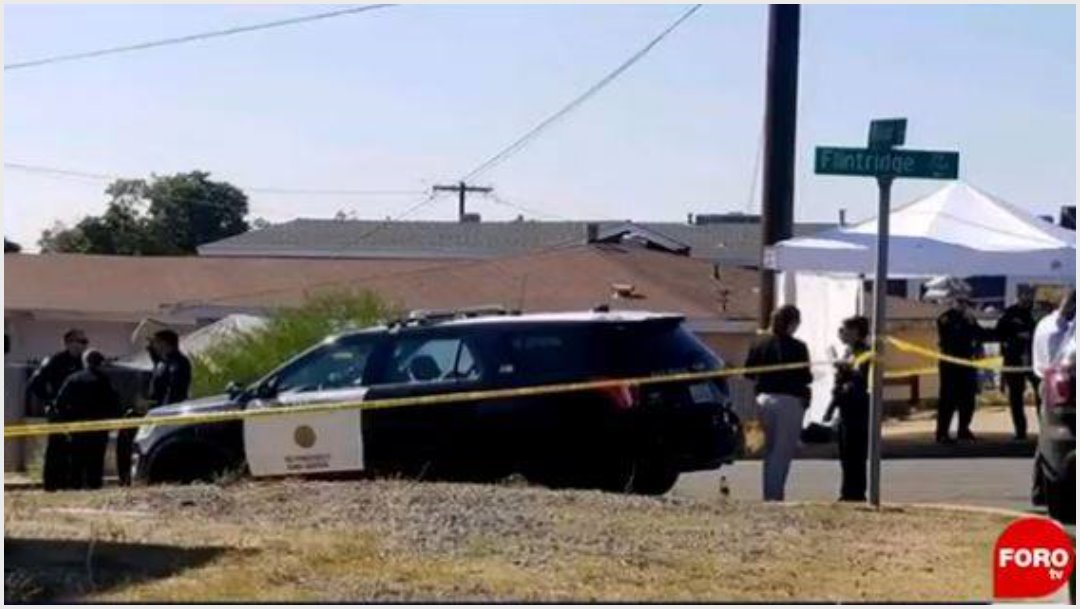 Foto: Mueren cinco por tiroteo en California, 16 de noviembre de 2019 (Foro TV)