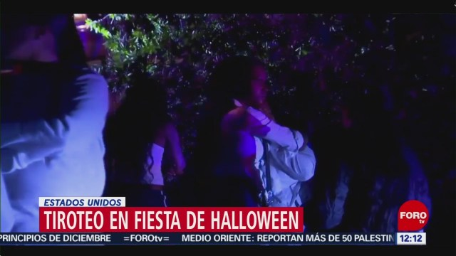 FOTO:Tiroteo se desata durante fiesta de Halloween en California, 1 noviembre 2019