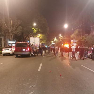 Balacera en persecución de tráiler deja 2 heridos en la Narvarte, CDMX