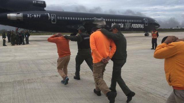 Traslado de internos de penales de Veracruz.