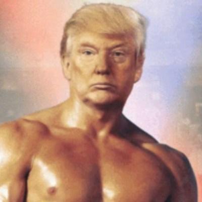 Trump se ve como Rocky Balboa, tras publicación de datos económicos