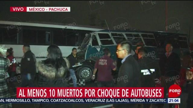 FOTO: Un menor, entre los muertos por accidente en la México-Pachuca, 18 noviembre 2019