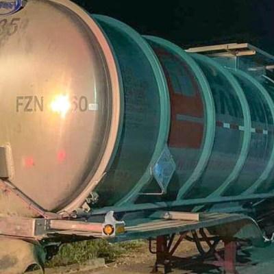 Recuperan pipa con más de 10 mil litros de hidrocarburo, en Chiapas