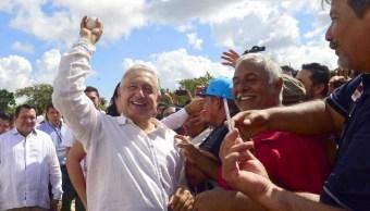 Foto: AMLO en la península de Yucatán , 9 de noviembre de 2019, (Presidencia)