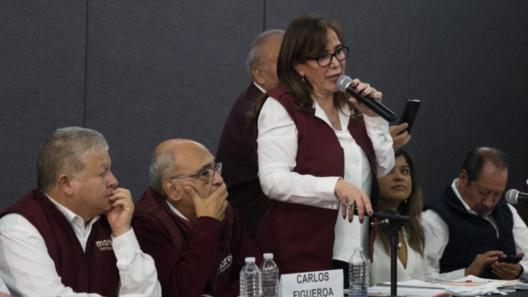 Foto: Renovación de dirigencia de Morena, hasta el próximo año, 17 de noviembre de 2019, (MOISÉS PABLO /CUARTOSCURO.COM)