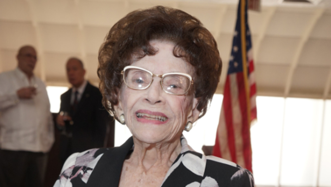 Muere Leonor Ferreira, llamada 'abuela del exilio cubano' a los 105 años de edad, 18 de diciembre de 2019, (EFE, archivo)