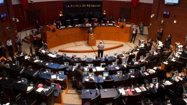 sesion en el senado