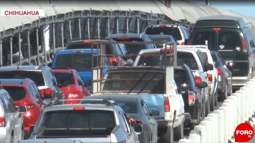 Foto: Hasta tres horas esperaron cientos de residentes de Ciudad Juárez para aprovechar los descuentos que se ofrecen en las tiendas de El Paso, Texas, al iniciar la temporada navideña